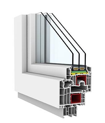 Okno PCV FEN 92