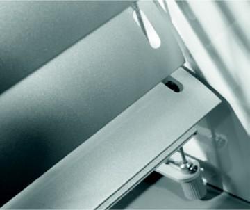Aluminiowa konstrukcja żaluzji